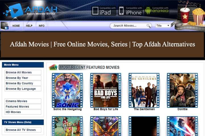 Afdah Movies | Free Online Movies, Series | Top Afdah Alternatives [Updated 2021]
