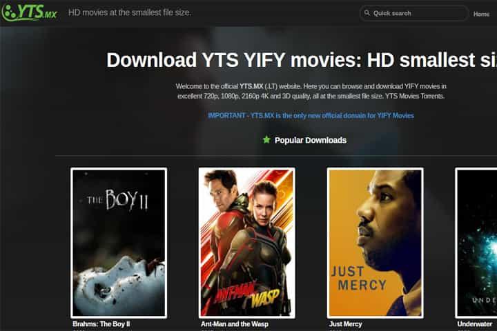 YTS - piratebay3