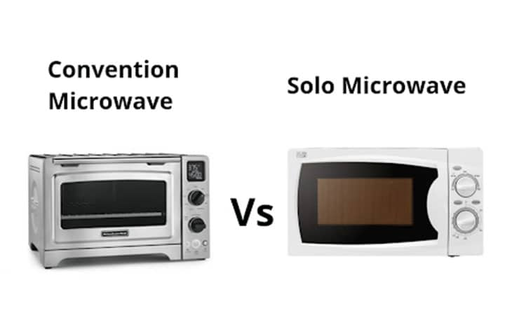 Solo V/S Convection Microwave Oven: What Are the Major Differences?