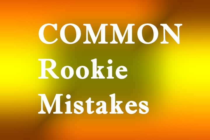 4 Rookie Mistakes Every First-Time Punter Must Not Make