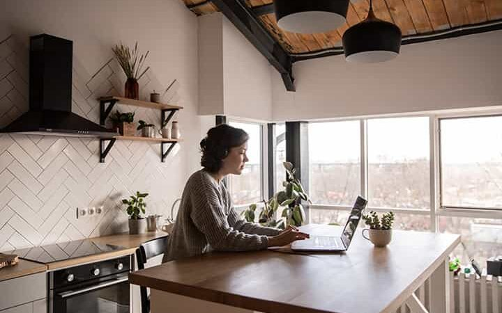 A Home Office Can Be Set Up Quickly