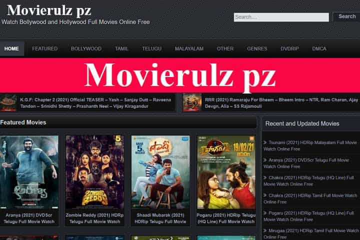 Movierulz pz – Download HD Movies From Movierulz ms For Free [2021]