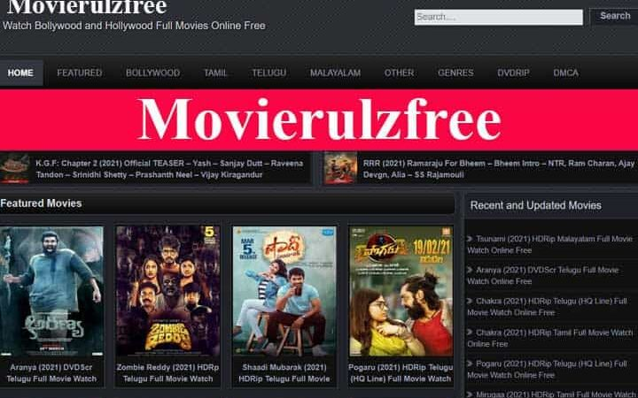 Movierulzfree – Download Telugu and Hindi Movies From Movierulz Free